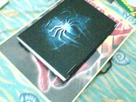 inilah laptopper murah meriah (sekali lagi mohon maaf karena gambarnya jelek, masih pake VGA :( )