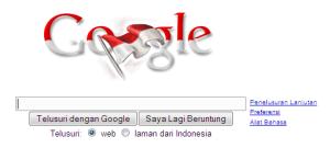 google un merayakan Kemerdekaan Kita