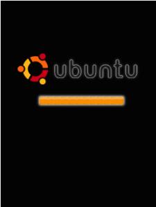 screen saver booting ubuntu