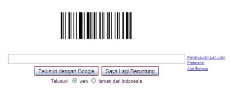 selamat hari barcode!