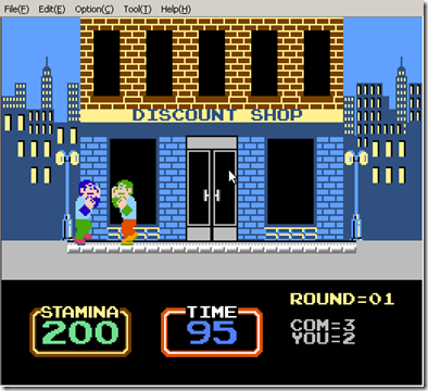 Screenshot-VirtuaNES - Urban Champion (JU)