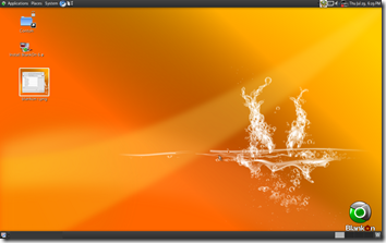 blankon desktop