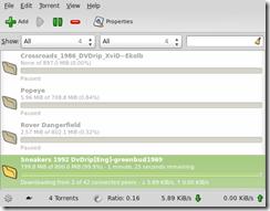 Screenshot-Transmission