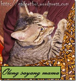 oleng dan mama...