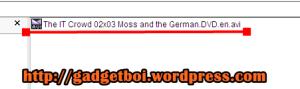 Tapi kalau di lihat menggunakan opsi selain thumbnail bisa terlihat nama file
